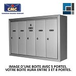 Casiers postaux Canadian Mailbox Company NS-101 en surface